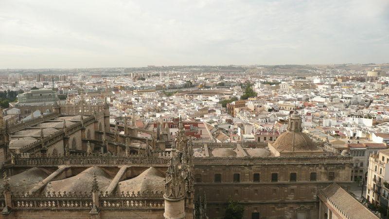 Séville, vue depuis la Giralda
