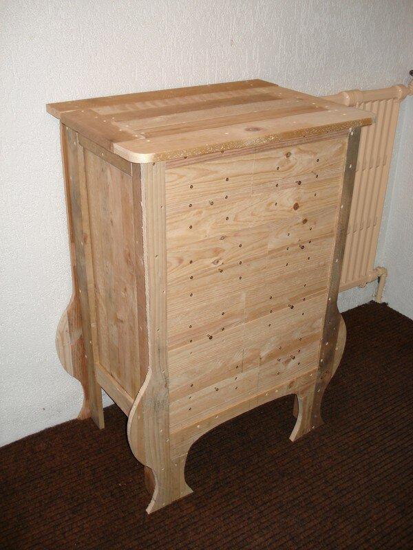 meuble bois palette