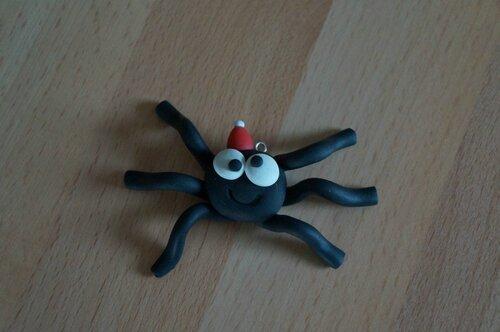 fimo araignée