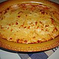 Cannellonis aux trois fromages