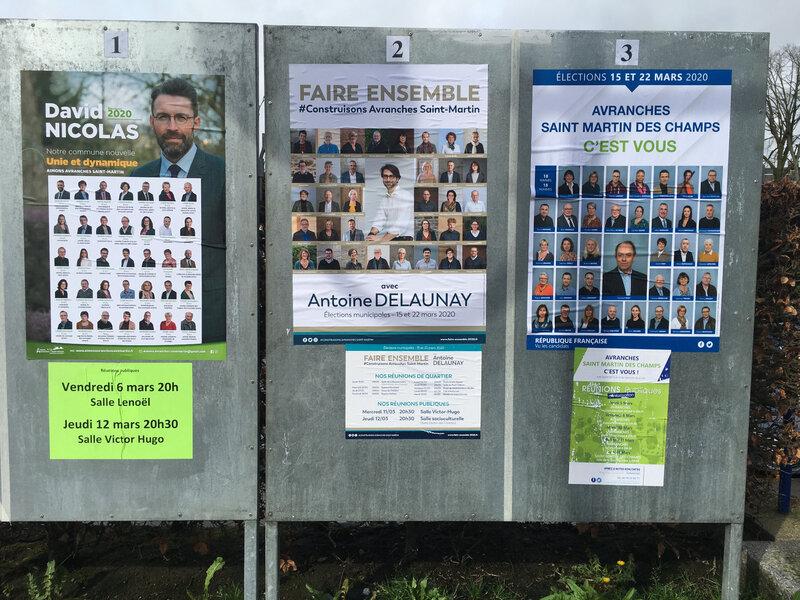 municipales 2020 à Avranches : professions de foi et dernières réunions publiques avant le 1er tour de scrutin