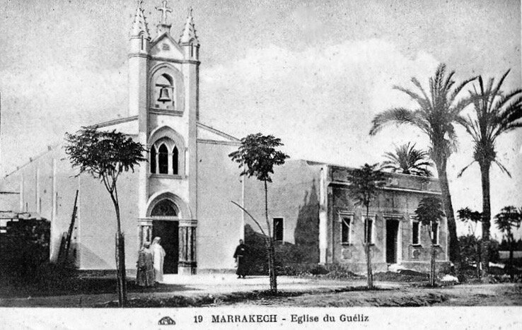 5-Eglise du Gueliz-Photo-CAP-1919_N19-Collection Bazooka Joe