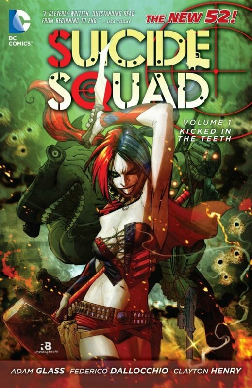 suicide squad vol 1 kicked in the teeth TP