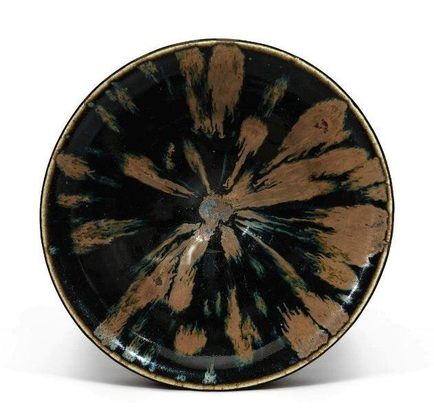 A russet-splashed 'partridge feather' bowl, Northern Song-Jin Dynasty