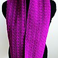 Snood_mitaines violet 7