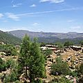 La vallée du paradis sur la route d'imouzzer....