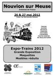 Affiche Expo trains 2012