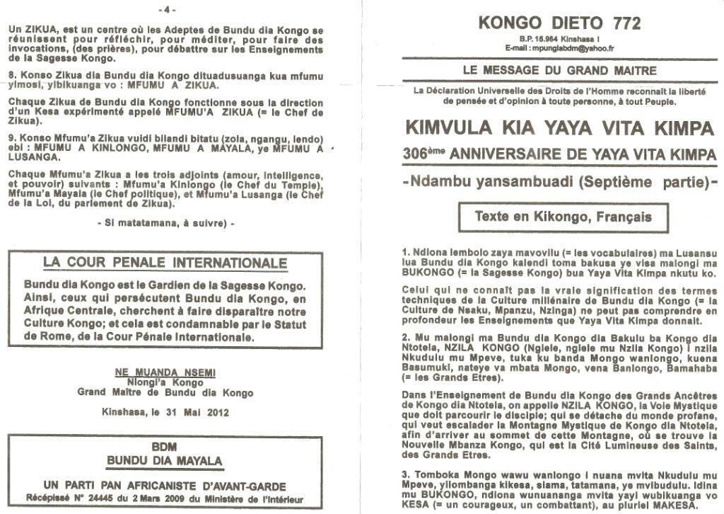 KONGO DIETO 772 a