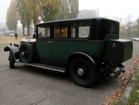 ROLLS ROYCE Phantom I Hooper 1929 Retrorencard 6