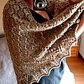 swallowtail shawl, mon nouveau doudou