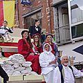 2012 défilé vu de la place St Anne Comines Belgique