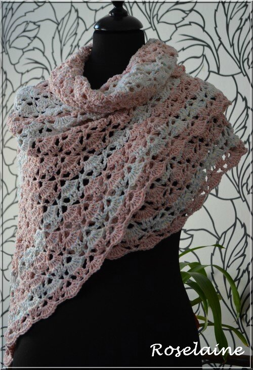 Roselaine 76 South Bay Shawlette