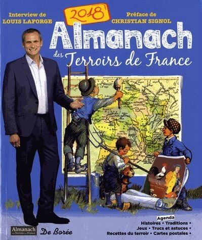 ALMANACH DES TERROIRS DE FRANCE 2018 DE BOREE EDITIONS