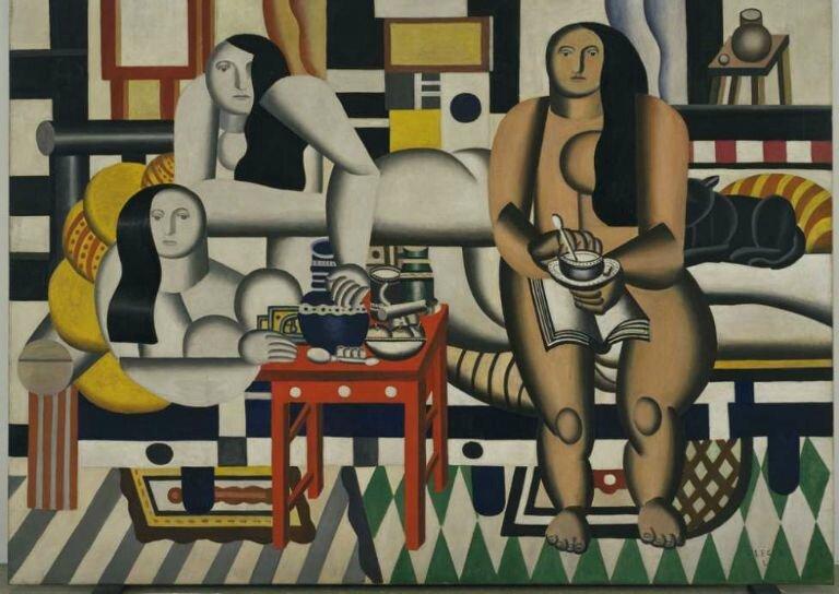 Fernand Léger (1881–1955) Trois femmes (Le Grand Déjeuner), 1921–1922