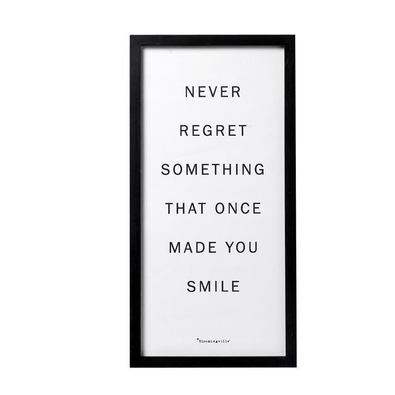 frame regret