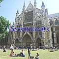 Mon top 10 londres royal: n°2: westminster abbey