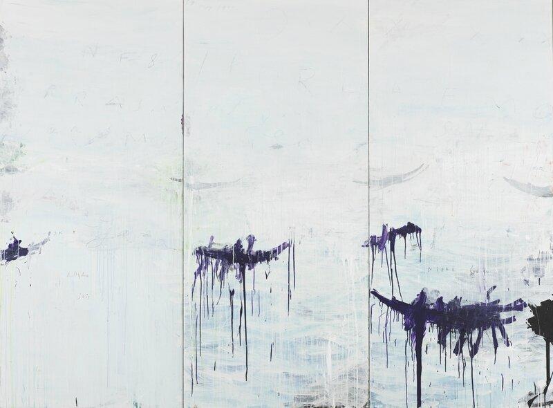 Cy Twombly_Untitled (Gaeta),1992