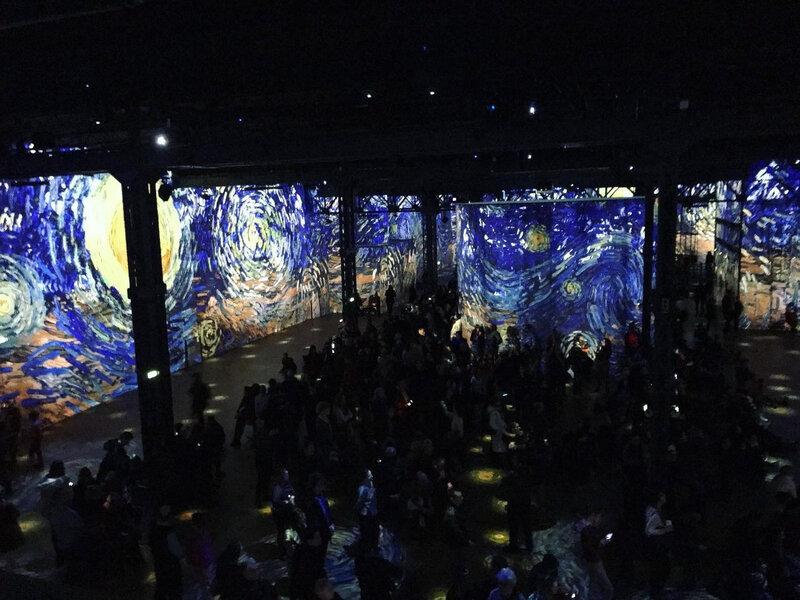 Van Gogh à l'Atelier des Lumières ©Kid Friendly
