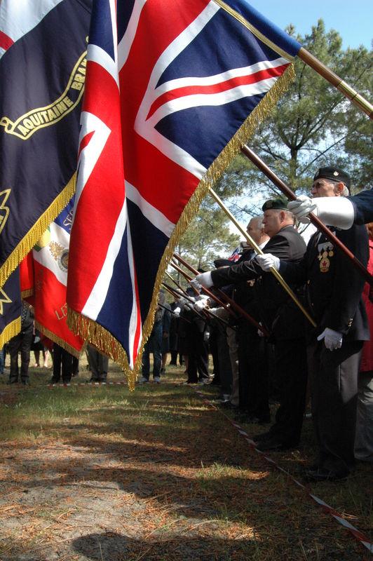 L'Union Jack à l'honneur
