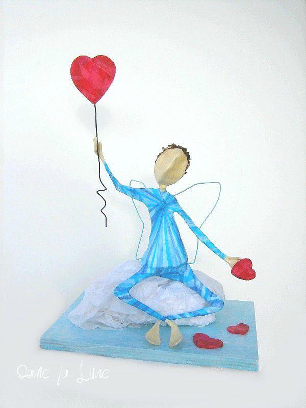 - FIGURINE, ange Cupidon...