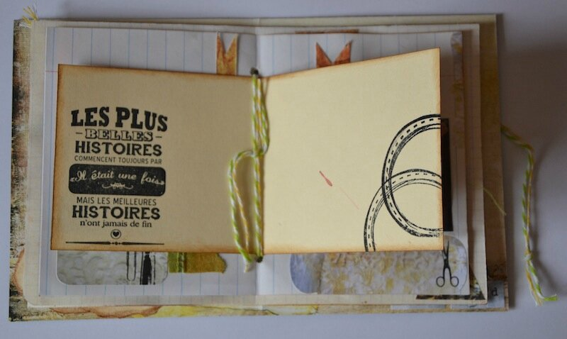 Mini Album Coffret Graphic' 30 - Crop Fatiha Mars 2013