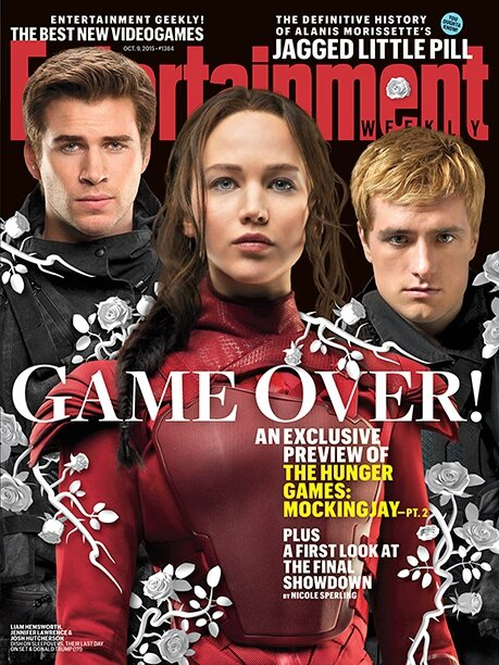 Entertainment Weekly Mockingjay Part 2 cover