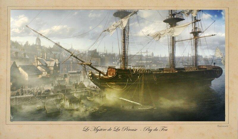 French_Corvette_L'Astrolabe Le Mystère de La Pérouse Puy du Fou
