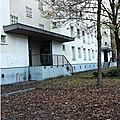Quartier drouot - ramassage des feuilles mortes...