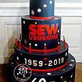 Gâteau SEW, anniversaire Zénith de Strasbourg