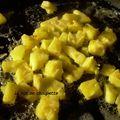 Yaourt a l'ananas frais