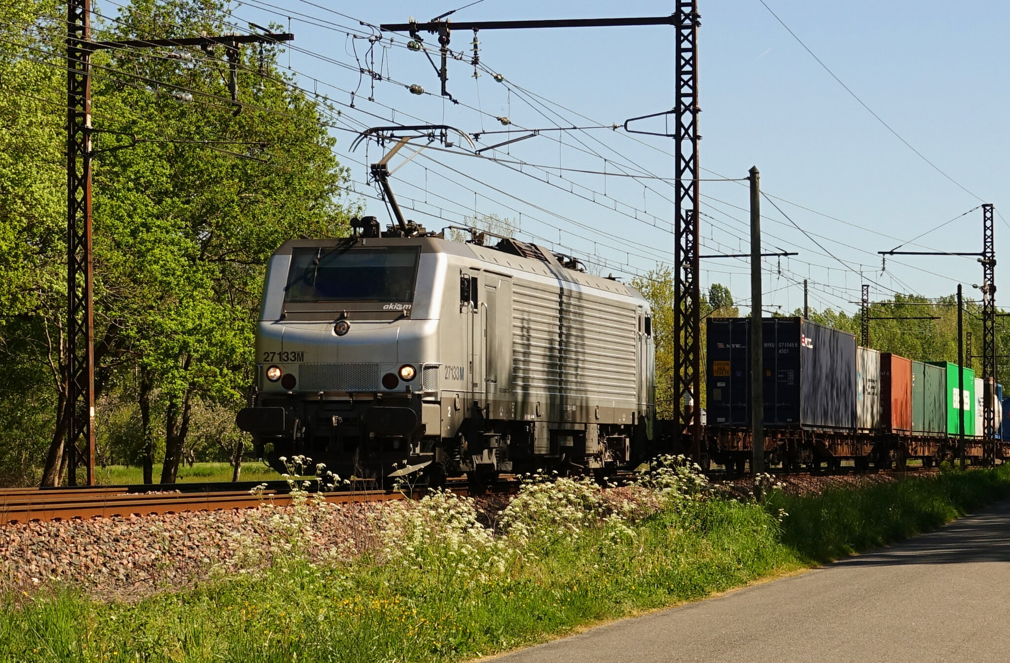 BB 27133 grise, Montboyer (Charente)