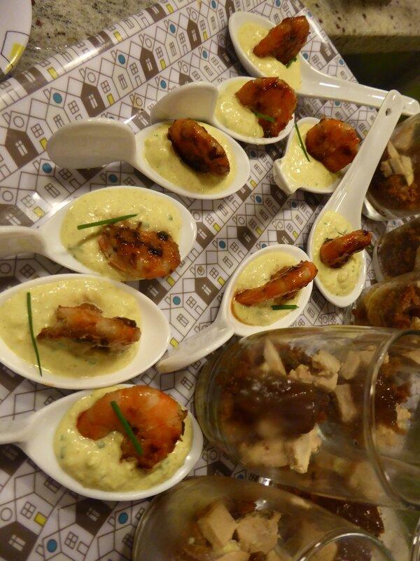 mini cuillére ouefs maynaise curry