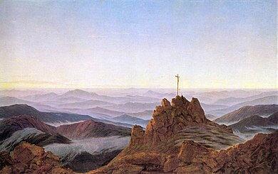 390px-Caspar_David_Friedrich,_Morgen_im_Riesengebirge