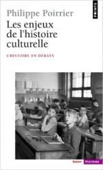 Poirrier histoire culturelle