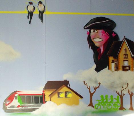 L'art en gare d'Ermont-Eaubonne