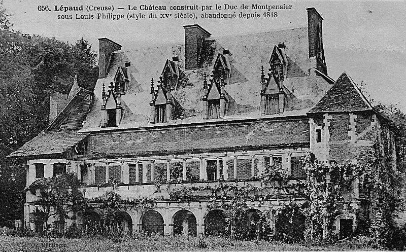 chateau de Lepaud