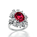 An important ruby and diamond ring, by meister