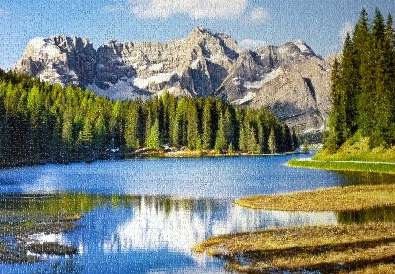 Lac de Misurina italie