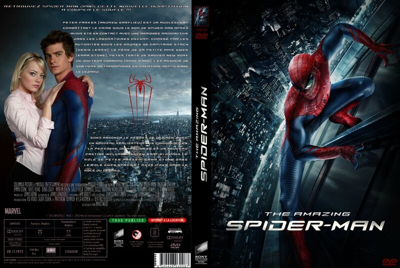 Jaquette The Amazing Spider-Man (2012)