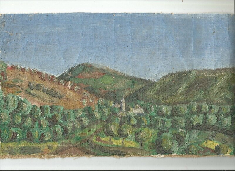 Paysage rudimentaire Serge