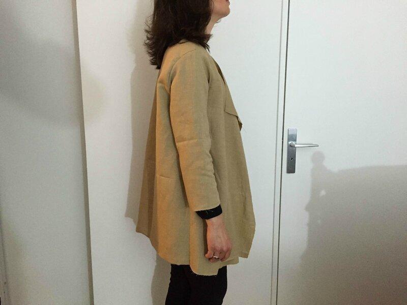 Brenna coat toile3