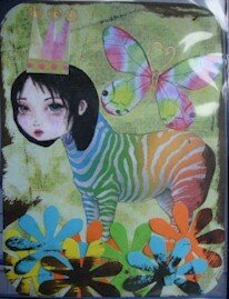 168 - Strange zebra - Partie chez Dragonlady (usa) le 6 10 06