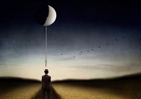 Man_and_the_moon_