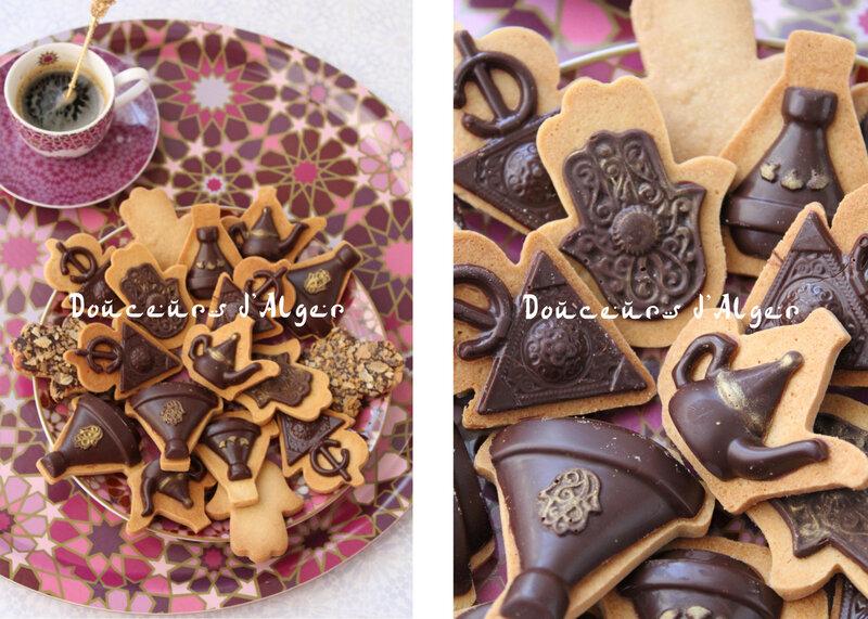 sablés cannelle chocolat
