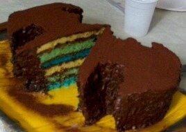 Gâteau couleurs 2