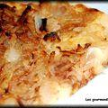 Tarte aux oignons / cannelle / miel
