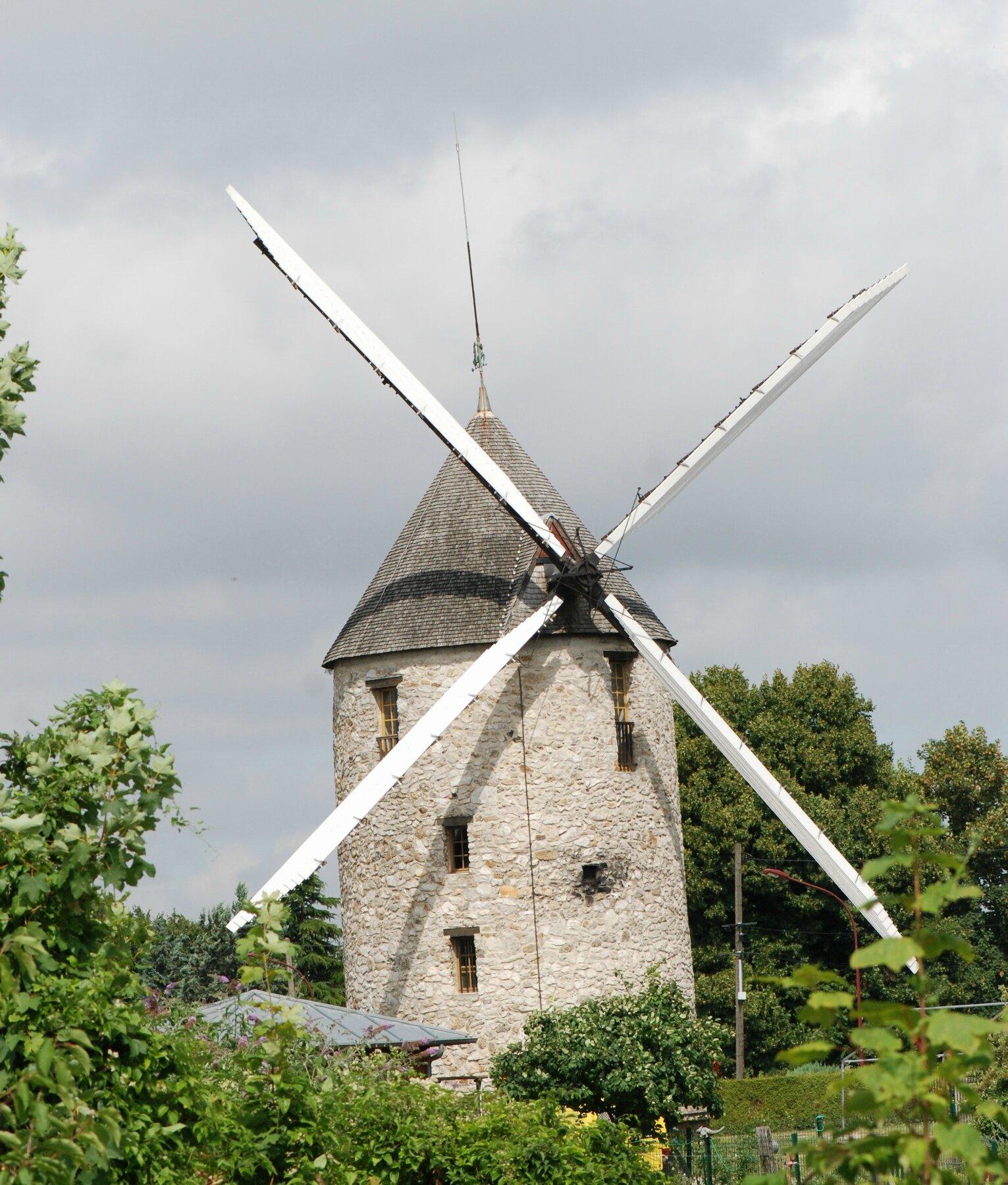 Moulin du Sempin (avant l'orage)