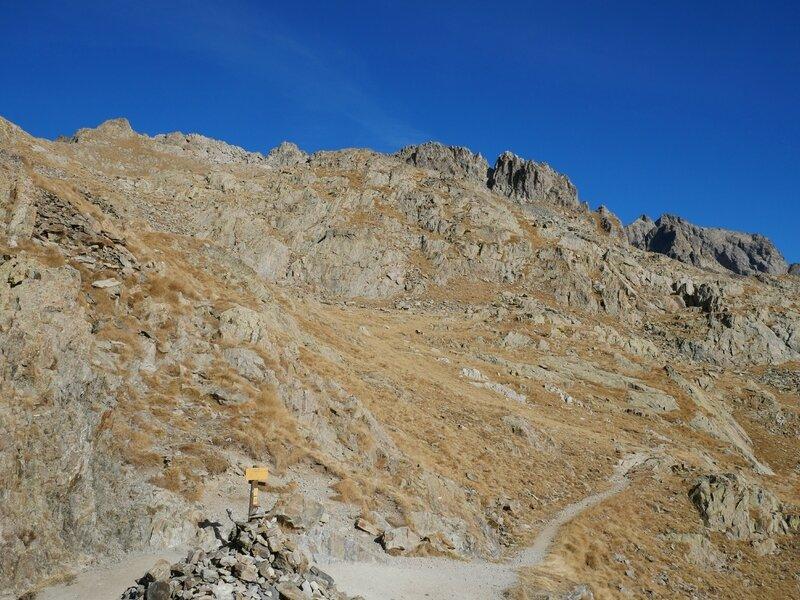 Pas des Ladres, vers le Col de Fenestre