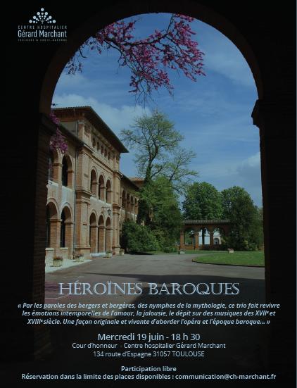 Affiche concert Hôpital Marchant Juin 19