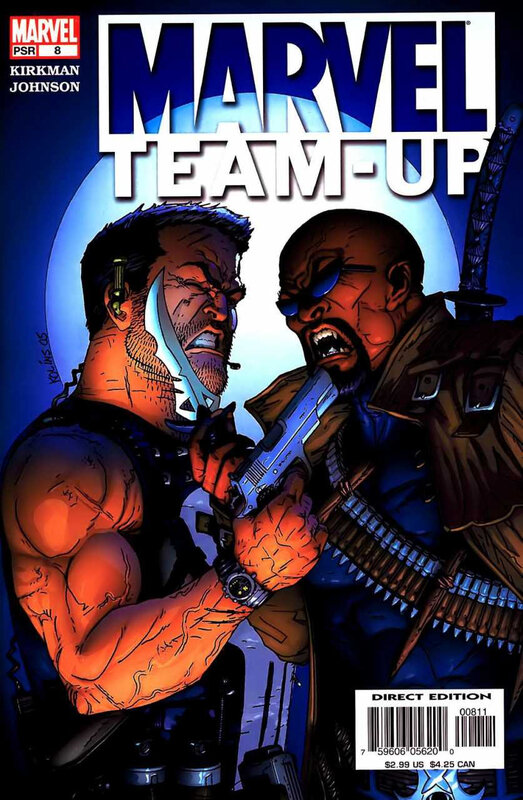 marvel team-up 2005 08 punisher & blade